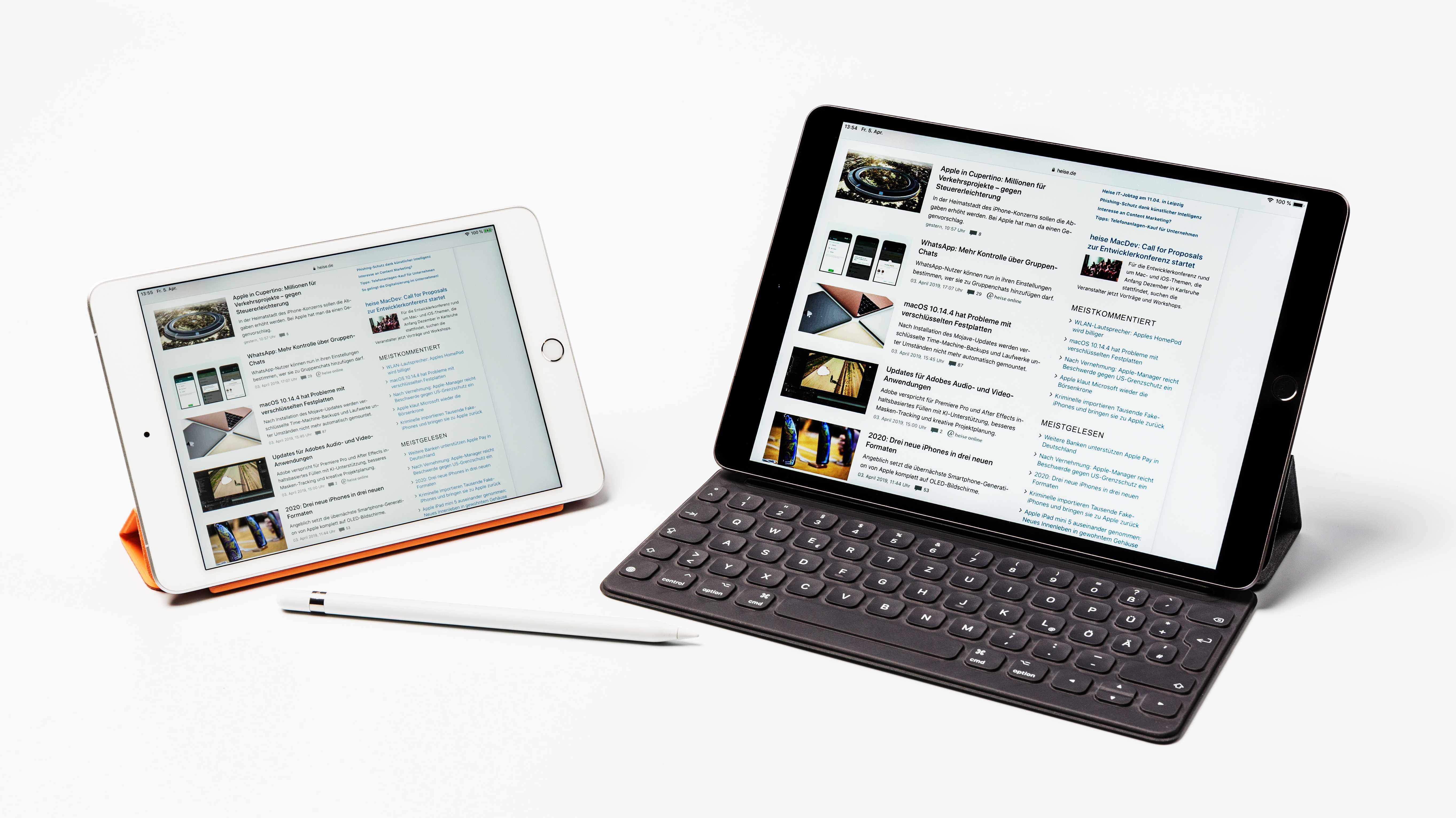Neue iPads im Test: Die wichtigsten Ergebnisse