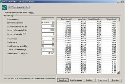 Lohnsteuertabellen Heise Download