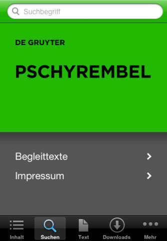 Kostenloser download pschyrembel klinisches w rterbuch 259 auflage.