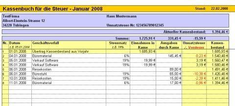 Tunesoft Kassenbuch Heise Download