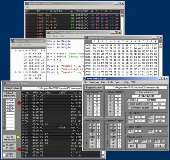 Free download: avsim z80 simulator debugger.