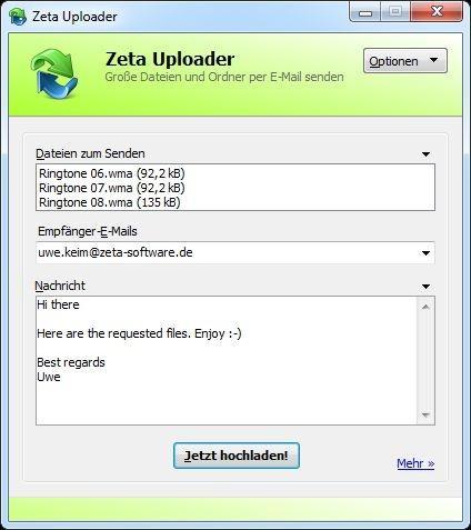 Zeta Uploader Heise Download