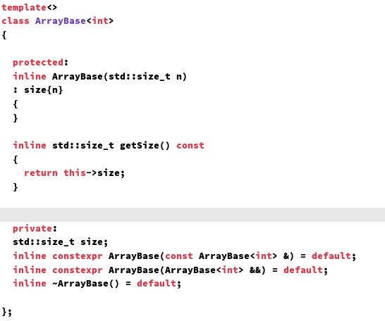 C++ Core Guidelines: Template Definitionen