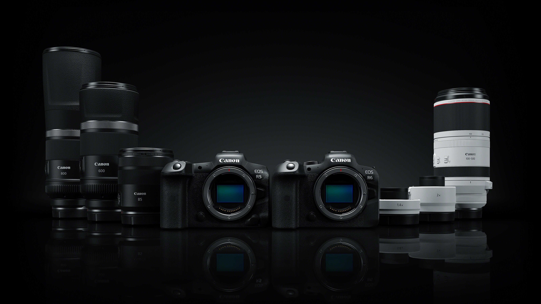 Spiegellose Vollformatkamera Canon EOS R: Neue Objektive mit Extrem-Brennweiten