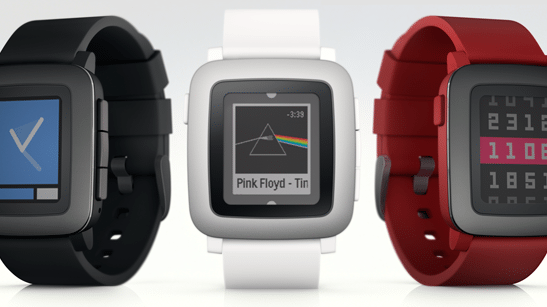 Pebble Time: Pebble kündigt neue Smartwatch mit Farbdisplay an