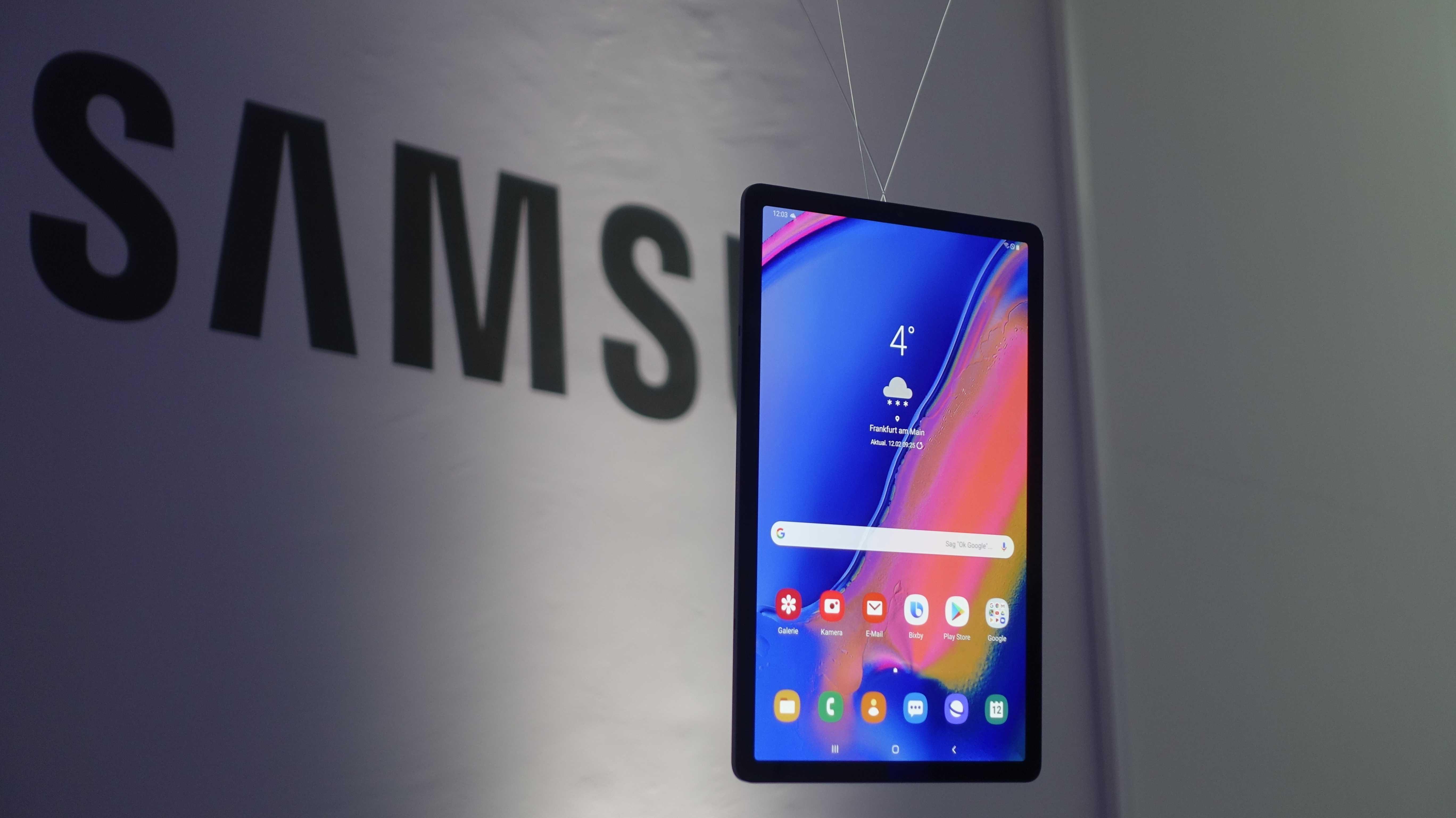 Samsung Galaxy Tab S5e: Das wahrscheinlich leichteste Tablet der Welt