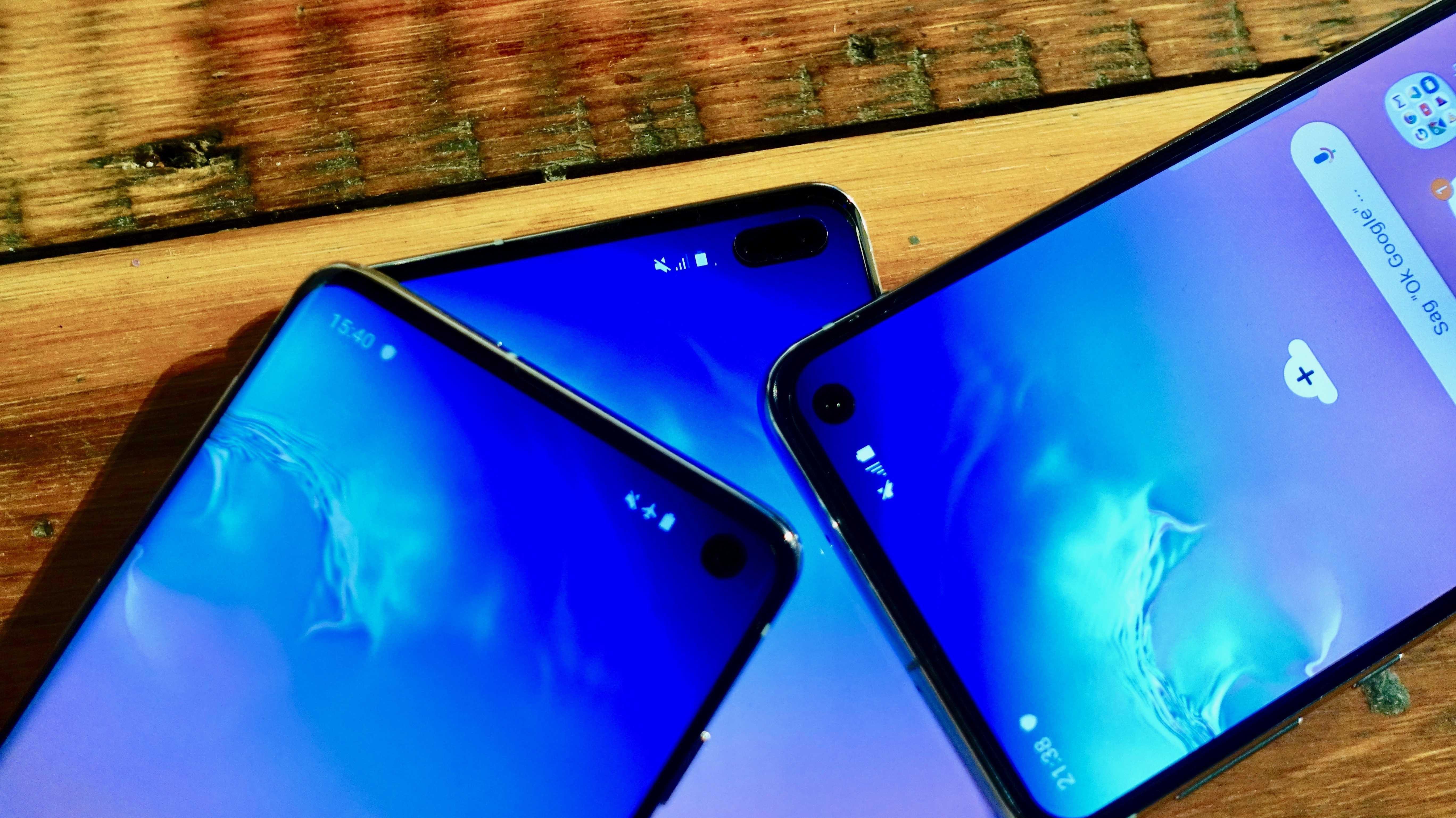 Samsung Galaxy S10: Loch statt Notch, fünf Kameras und drei Versionen