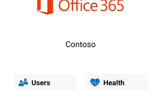 Office 365 per Smartphone administrieren