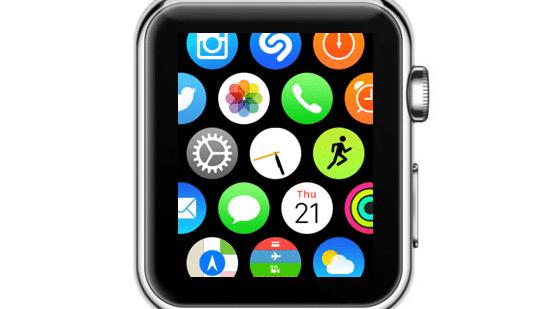 Tipp: Mehr Übersicht auf dem Apple-Watch-Homescreen