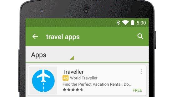 Android: Google plant Werbung im App-Store von Google Play