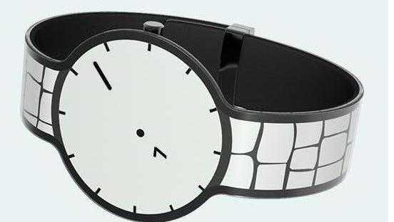 Sony-Smartwatch: E-Ink-Display als Armband
