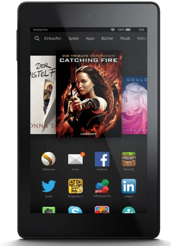 Amazons aktuelles Tablet Kindle Fire HD 6: Wo hat der Online-Händler gespart?