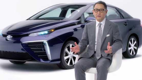Toyota bringt erstes Serien-Brennstoffzellenauto Mirai früher als geplant auf den Markt