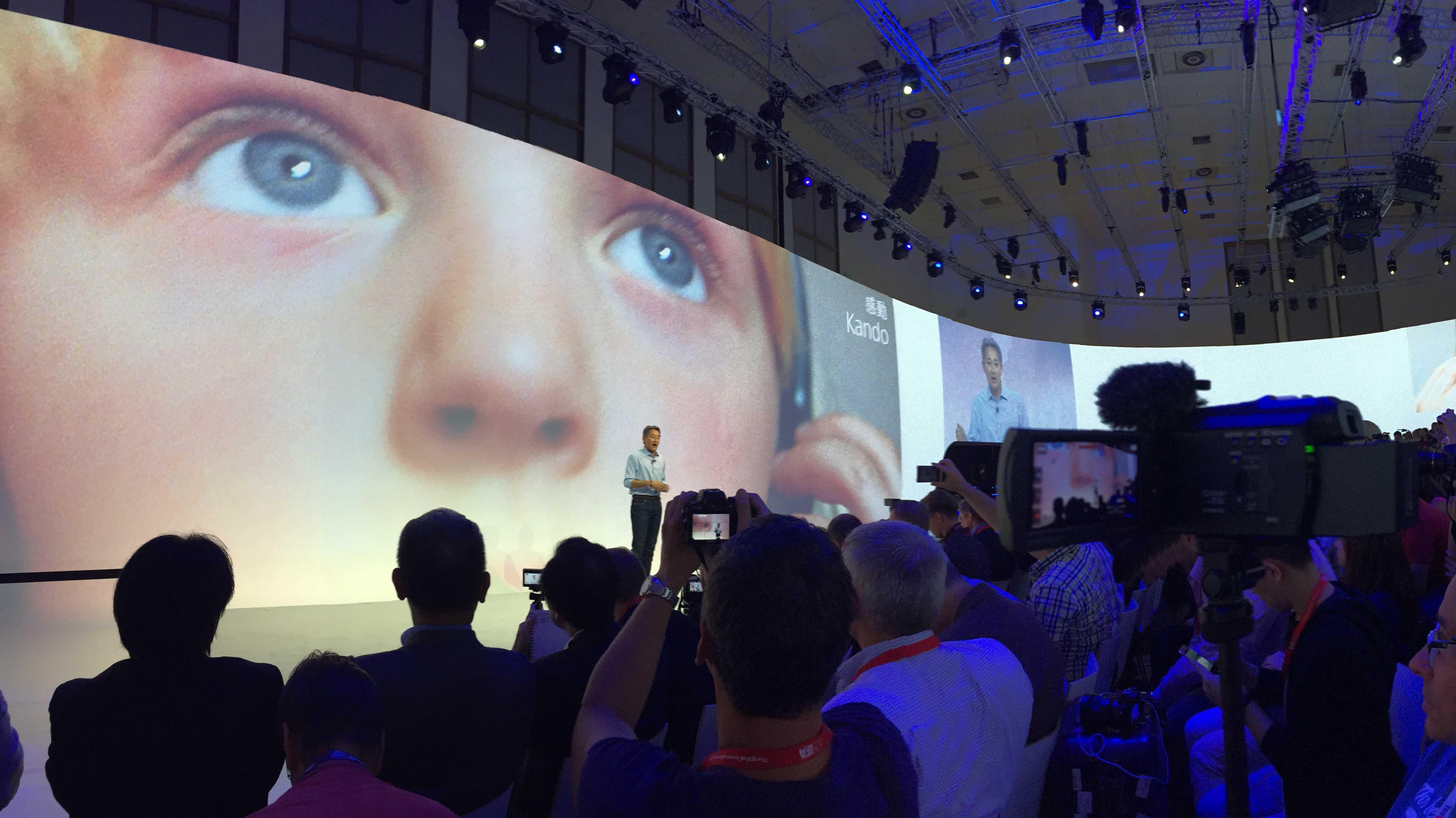 Sony auf der IFA 2015