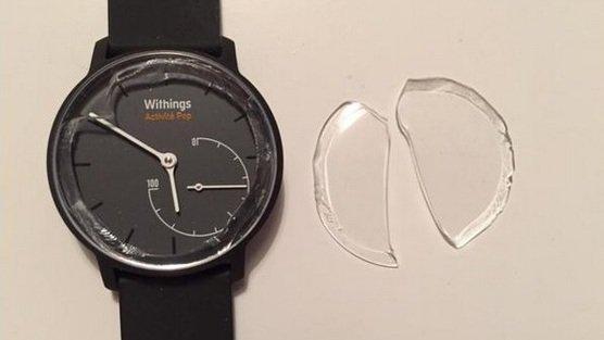 Withings reagiert auf Glasbruch bei Aktivitätstracker