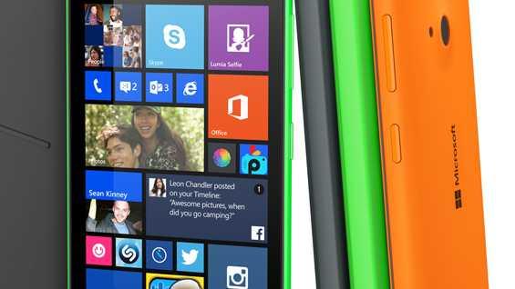 Microsoft-Smartphone mit Selfie-Kamera für 119 Euro
