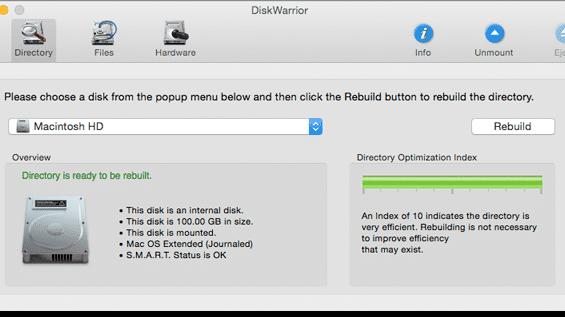 Mac-Datenretter DiskWarrior in neuer Version