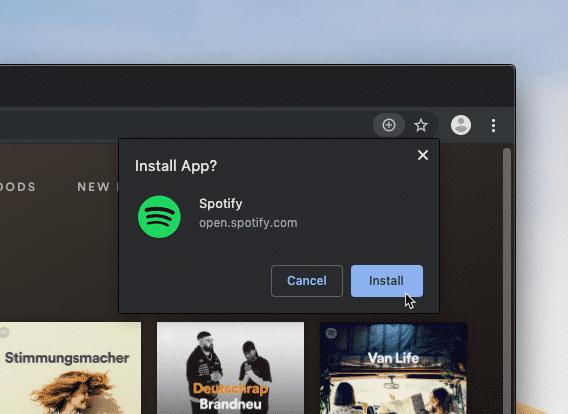 Chrome 76: PWA-Installation wird einfacher