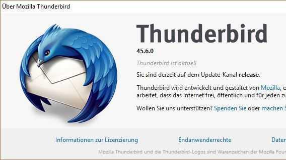 Sicherheitsupdate: Mozilla kümmert sich um kritische Lücken in Thunderbird
