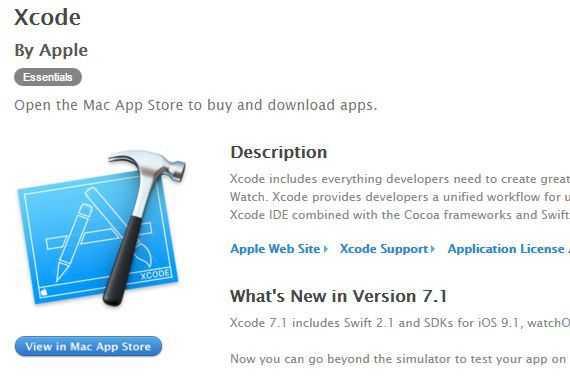 Um auf Nummer sicher zu gehen, sollten Entwickler Xcode ausschließliech über Quellen von Apple, etwa den Mac-App-Store, beziehen.