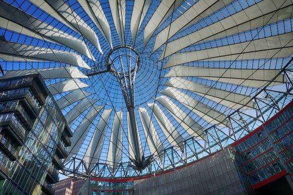 Berlin - Sony Center von Secundannte
