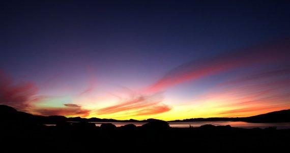 Sonnenuntergang in Schweden von FunkyBeaver