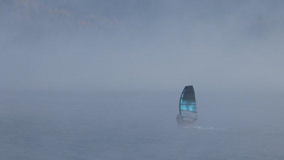 Nebelsurfer von Rudolf Wildgruber