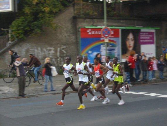 Haile Gebrselassie 2007 beim Berlin Marathon von omf4711
