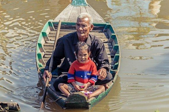 Floating Village Kambodscha 6 von Andrea Künstle