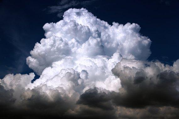 Wolkenfront von Mario68