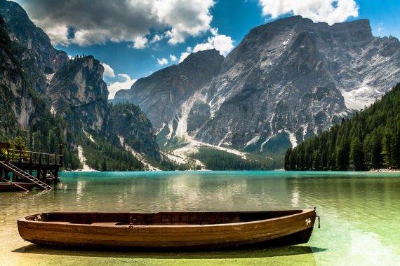 Italy - Lago di Braies von Michael Jurek