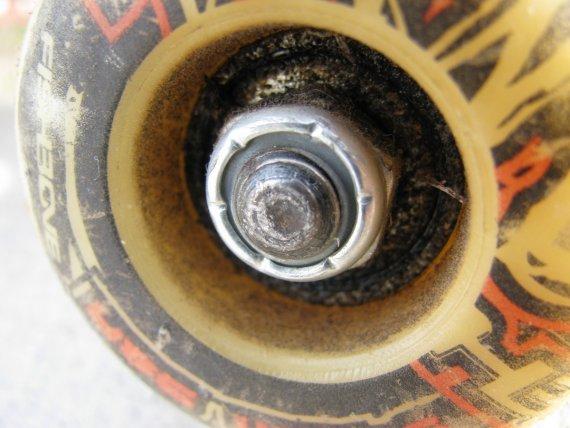 Skateboard-Rolle von BrenMcGuire