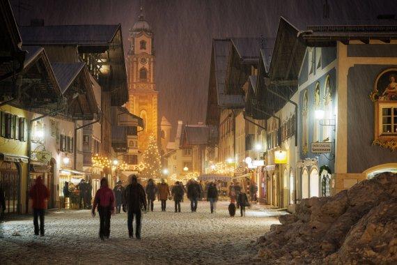 Winter in Mittenwald von Tarcitaxx