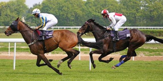 Pferderennen 1 von Paul S.