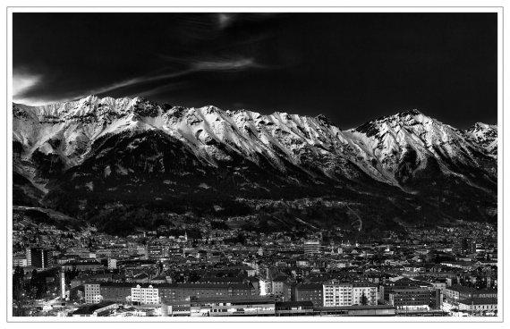 Innsbruck s/w von MrBig