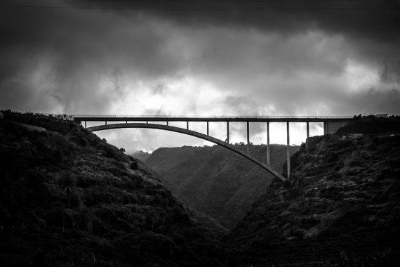 Wolken Brücke von nctec