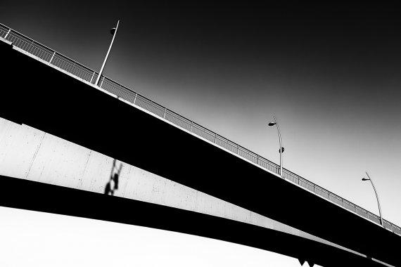 Stadtbrücke Worms von Stephan Gläser