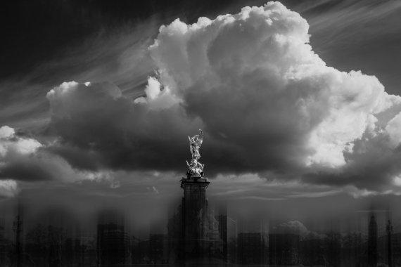 die Wolke über London von Mikrobiene