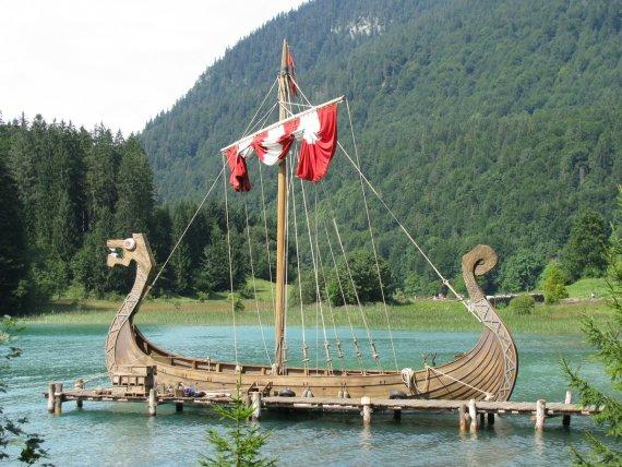 Wikinger-Schiff von BrenMcGuire