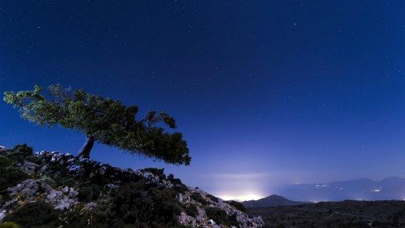 Sternenhimmel über Kreta von Dr. Thomas Rauen