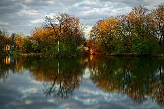Frühlingsabend von Ronny Kahl