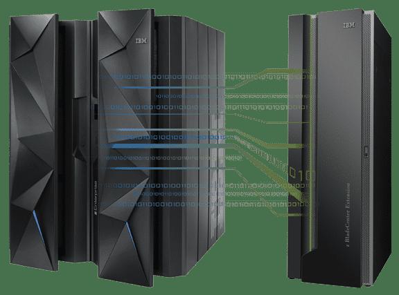 IBMs zEC12 mit Bladecenter-Kabinett