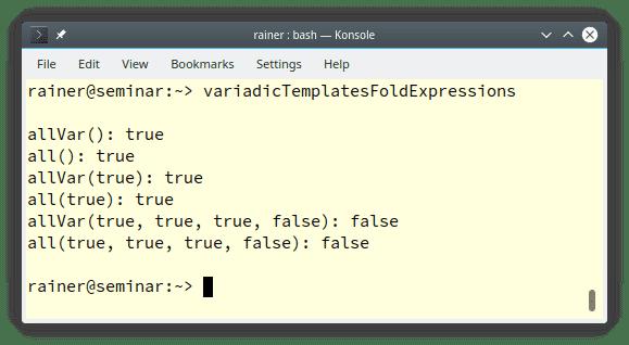 Von Variadic Templates zu Fold Expressions