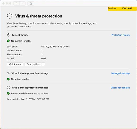 Microsofts Antiviren-Software für Unternehmen läuft nun auch auf Macs.
