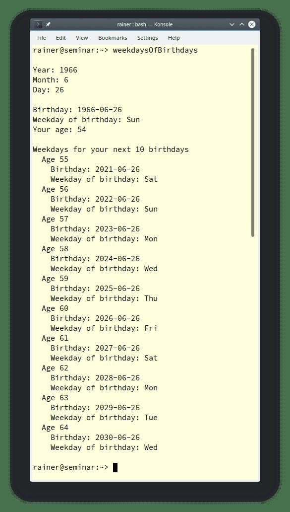 Kalender und Zeitzonen in C++20: Umgang mit Kalendertage