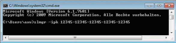 Firmenkunden, die eine Fristverlängerung bezahlen, müssen ihren Windows-7-Rechnern spezielle Installationsschlüssel einpflanzen.