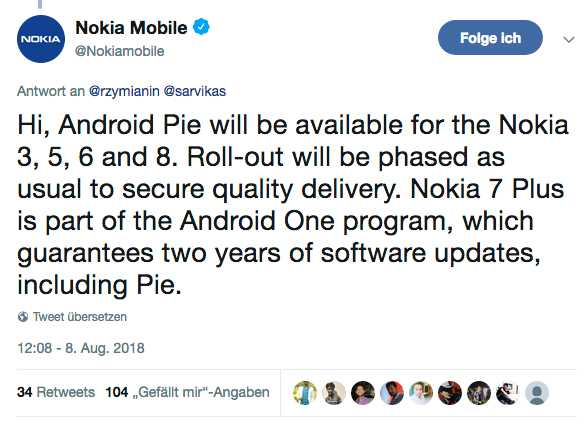 Android Pie: Diese Smartphones bekommen das Update