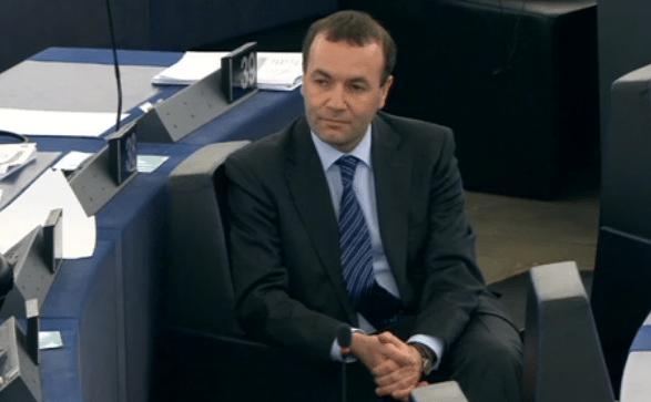 Martin Weber, stellvertretender Fraktionsvorsitzender der Konservativen im EU-Parlament, ist der Ansicht, der Staat müsse unter anderem mit der Vorratsdatenspeicherung die Bürger vor Terrorgefahren schützen.