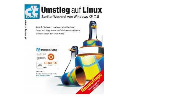 """Aktualisierte Neuauflage: c't-Special """"Umsteigen auf Linux """""""