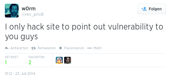 W0rm-Tweet